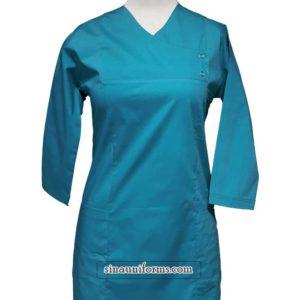 بلوز وشلوار جراحی زنانه جلو بسته